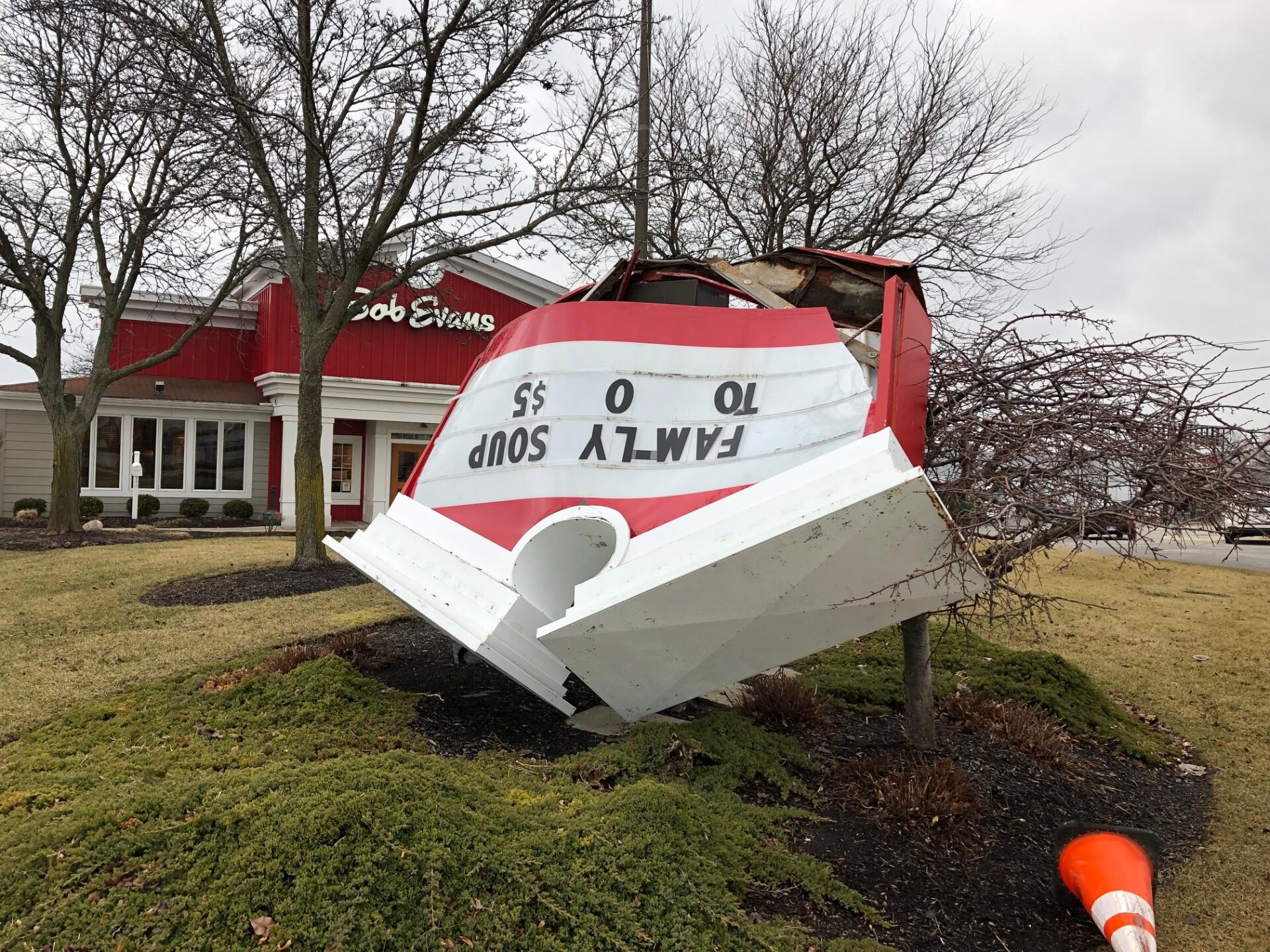 Images: Wind damage across Northeast Ohio