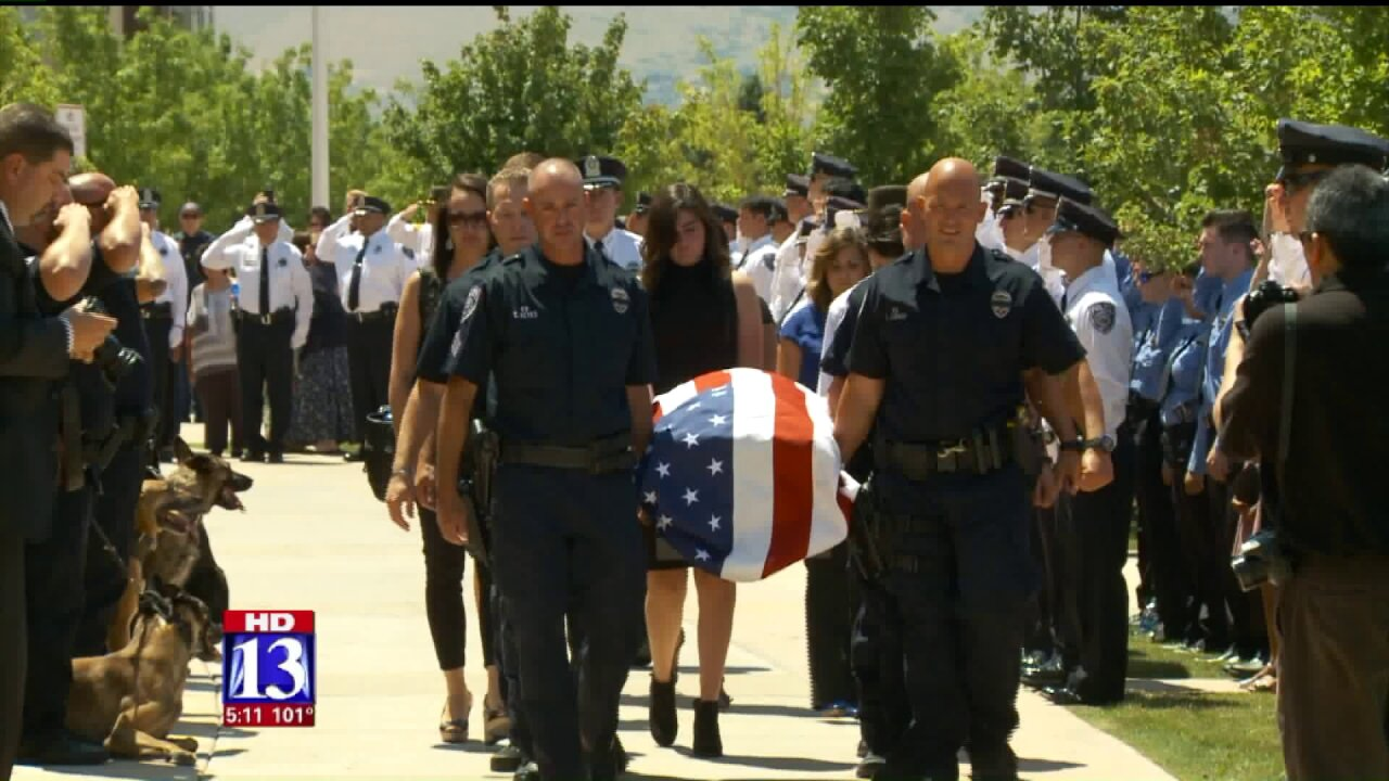 Memorial service honors Unified Police K9 killed in the line of duty