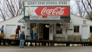 Raging Ohio River waters threaten iconic Rabbit Hash General Store