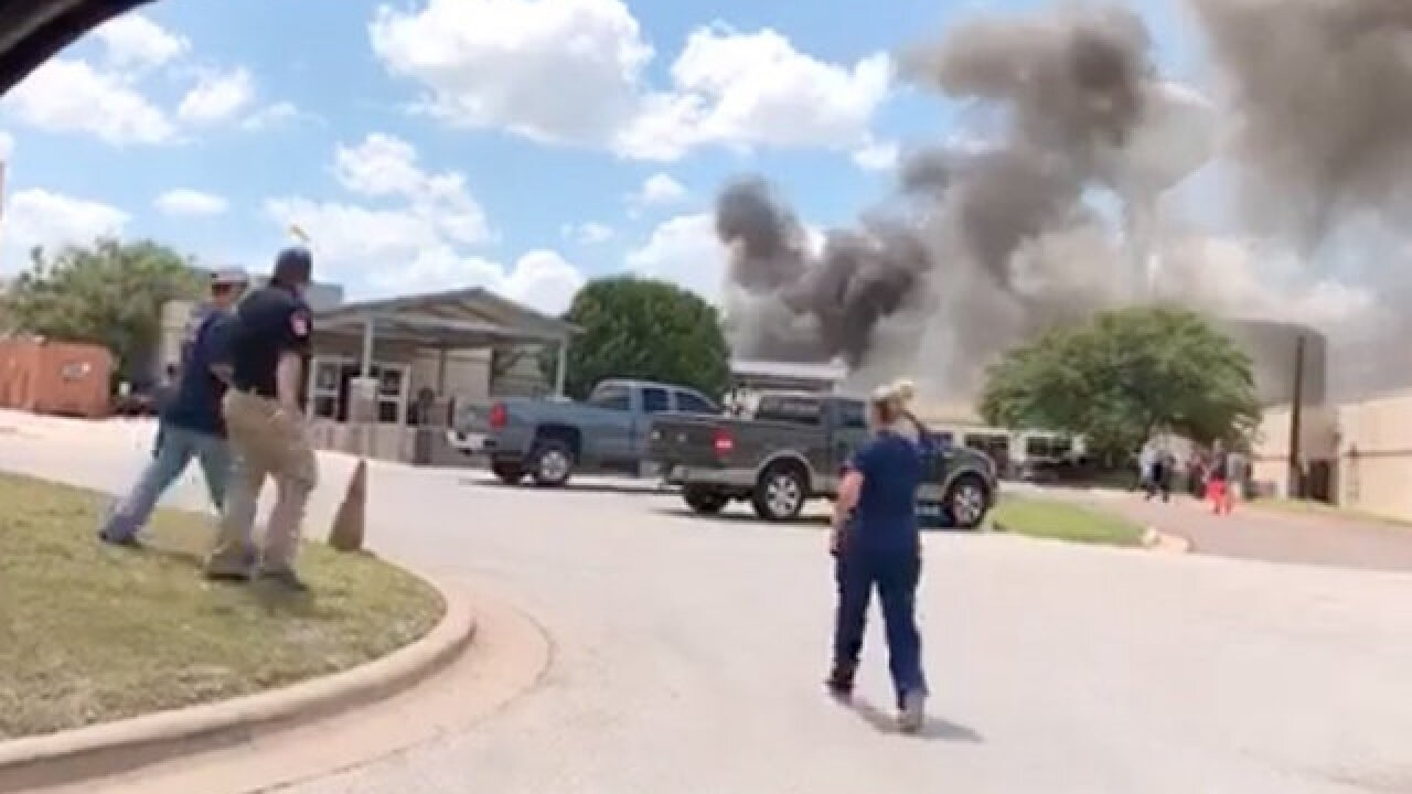 Blast at Texas hospital campus kills 1, injures others