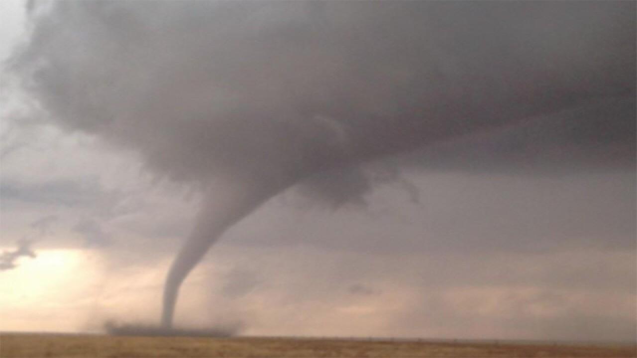 Tornado warning for Kiowa and Bent counties