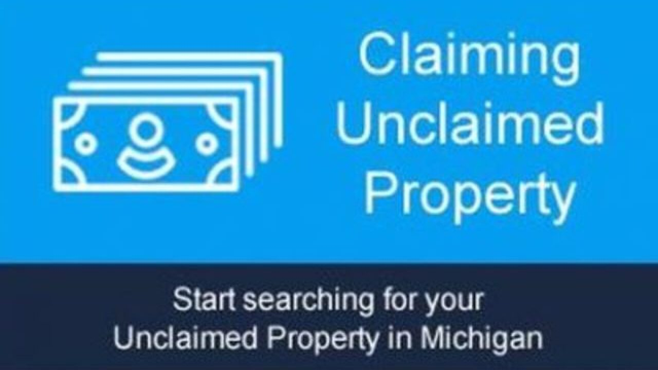 "Treasury: New Unclaimed Property Website ""Open for Business"""