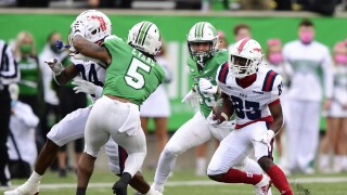 FAU Owls wide receiver LaJohntay Wester vs. Marshall Thundering Herd in 2020