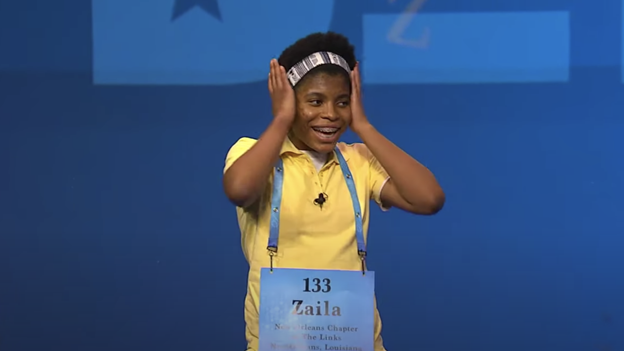 Zaila Avant-garde of Harvey, Louisiana, became the first African American winner of the Scripps National Spelling Bee in its nearly 100-year history.