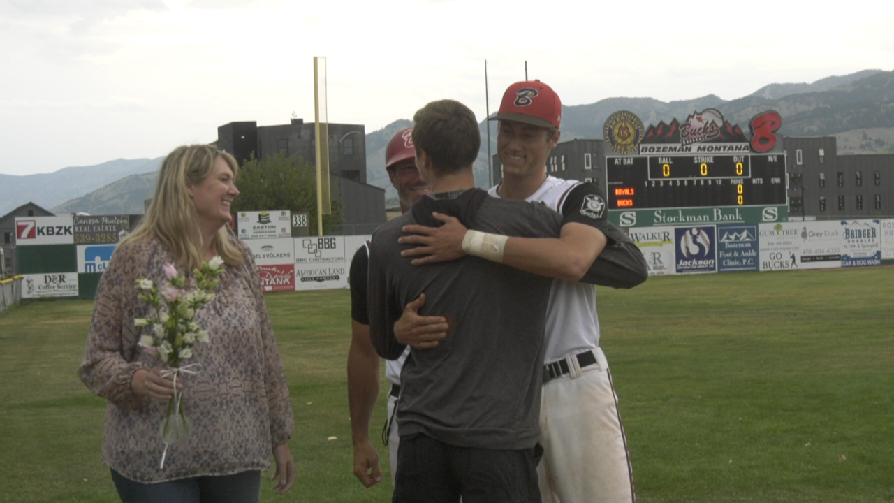 Bozeman Bucks seniors say goodbye to Heroes Park