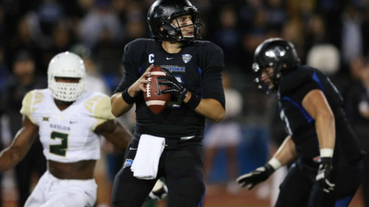 Will. South, UB QB Licata gets Bills tryout