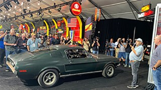 1968 Mustang Bullitt to be auctioned off next year