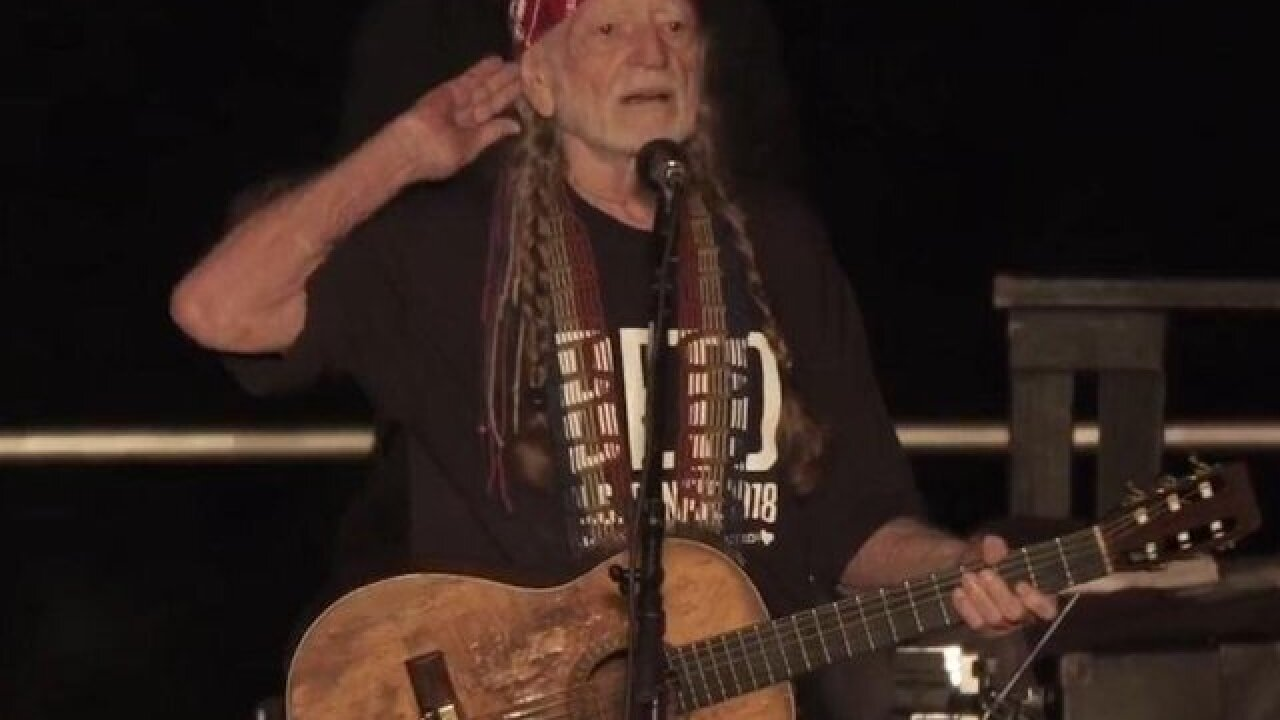Listen: Willie Nelson sings new song, 'Vote 'Em Out,' at Beto O'Rourke rally