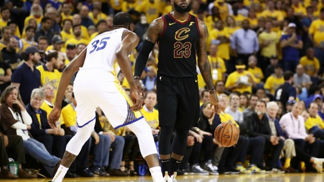 c4dd51398a858 Predictions for Cavs vs. Warriors in Game 2 of the 2018 NBA Finals