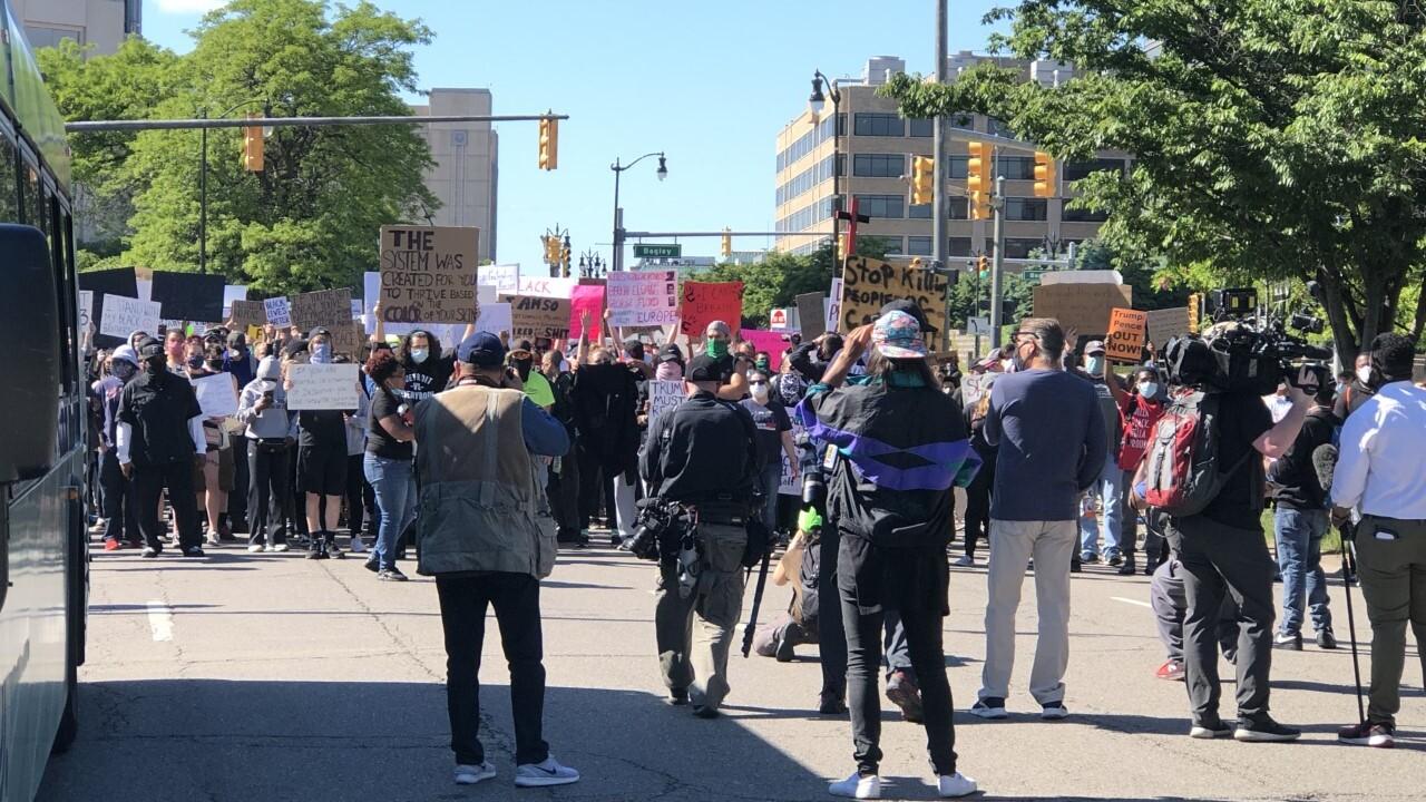 Protest Detroit