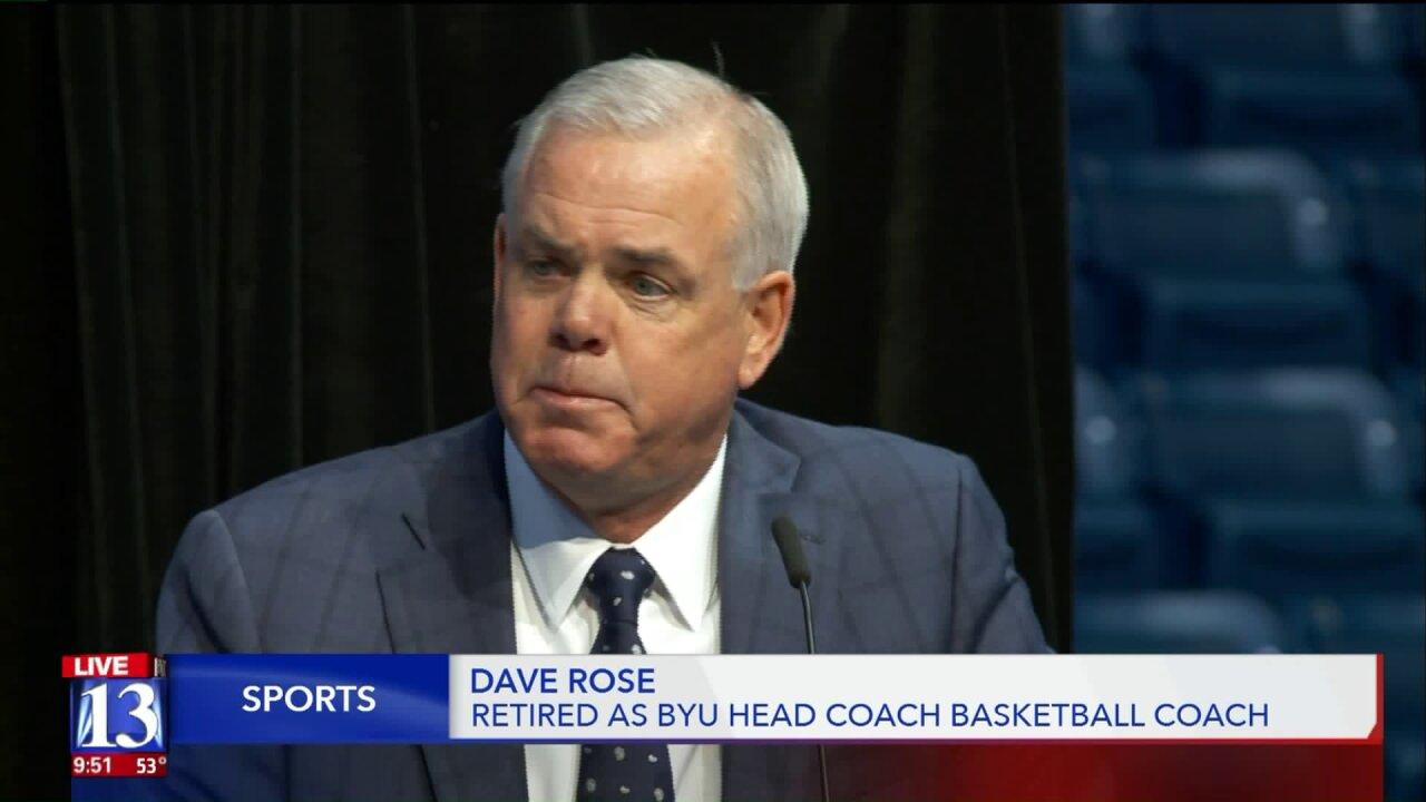 BYU basketball coach announces he is steppingdown
