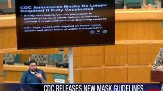 Local experts talk new mask guidelines