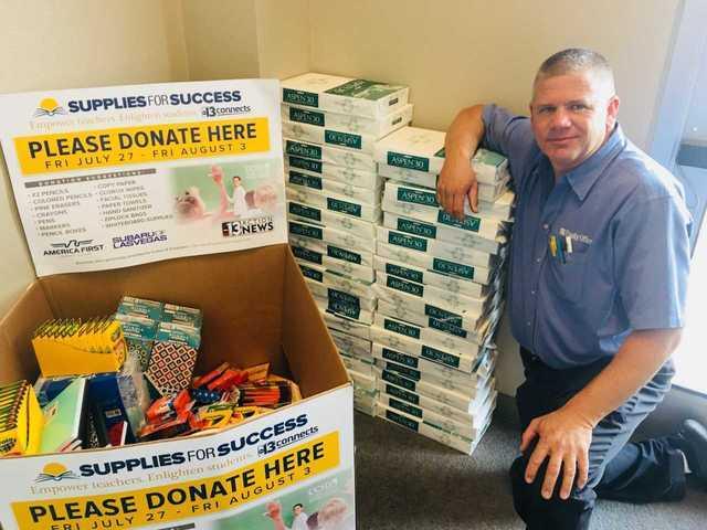 PHOTOS: Supplies for Success teacher school supply drive