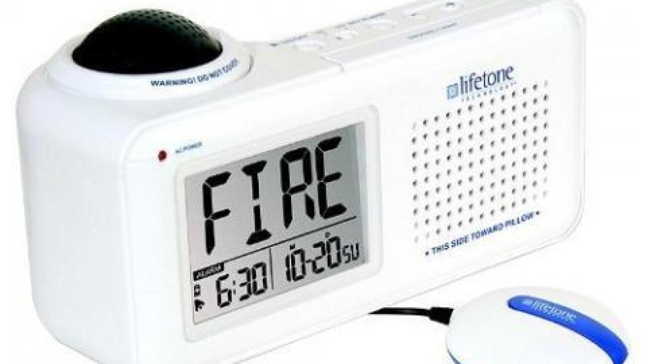 Bedside fire alarm recalled