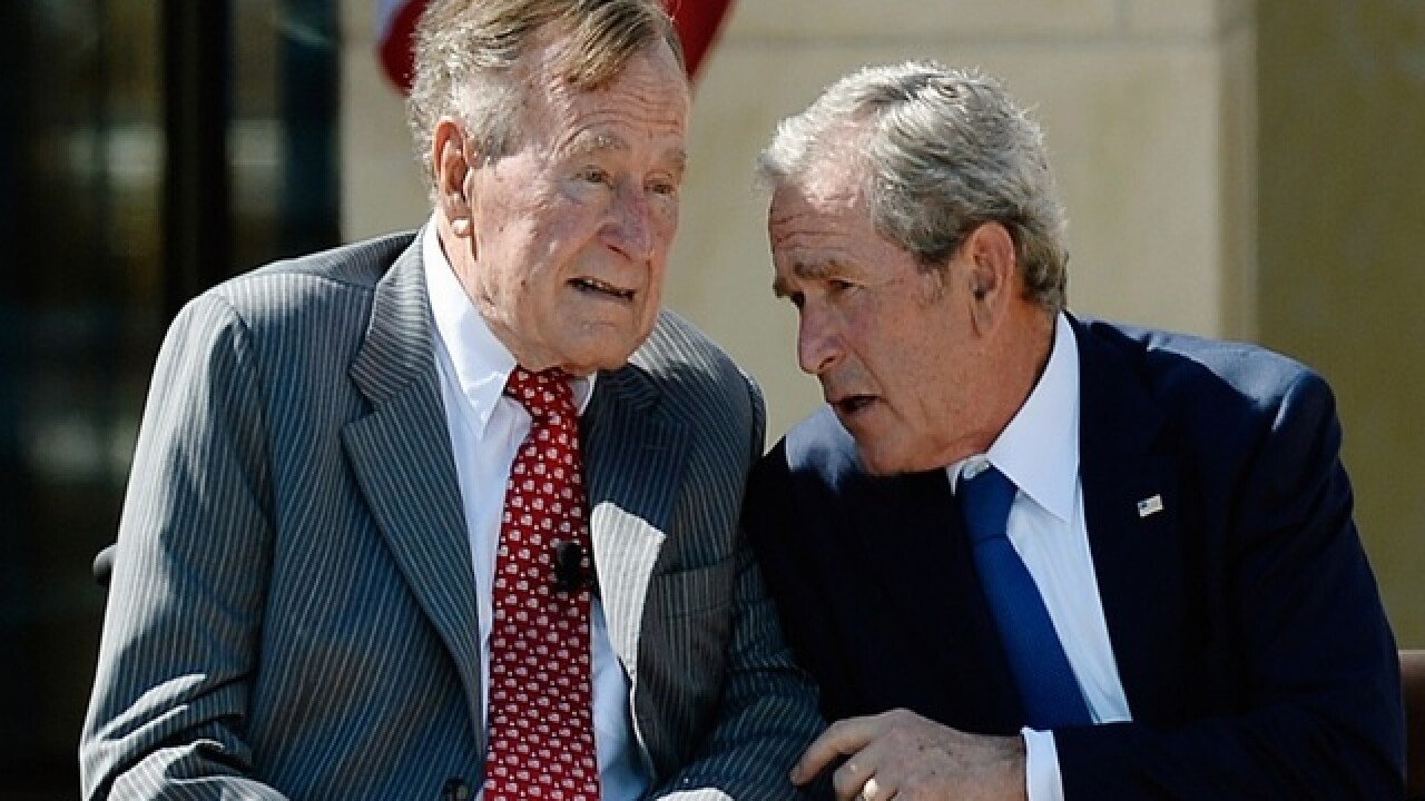 Former Bush presidents won't endorse Trump