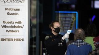 Virus Outbreak California Casinos