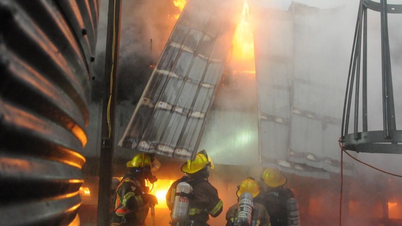hamlin farm fire casco township 112819 3.JPG
