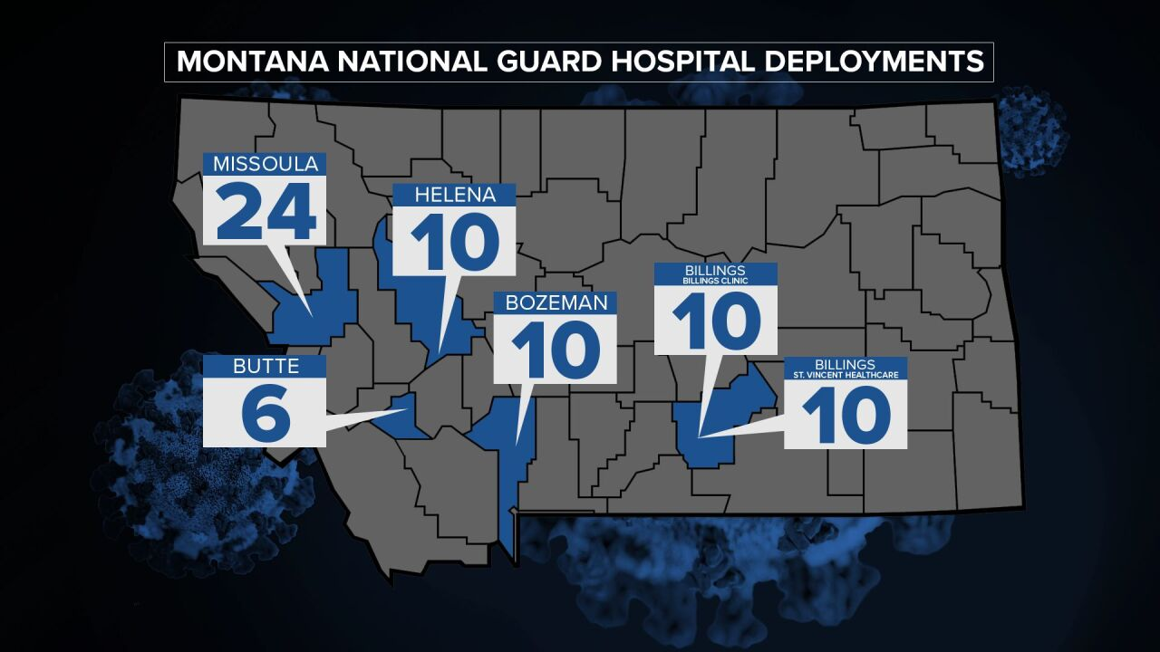 National Guard will help Montana hospitals as COVID cases surge