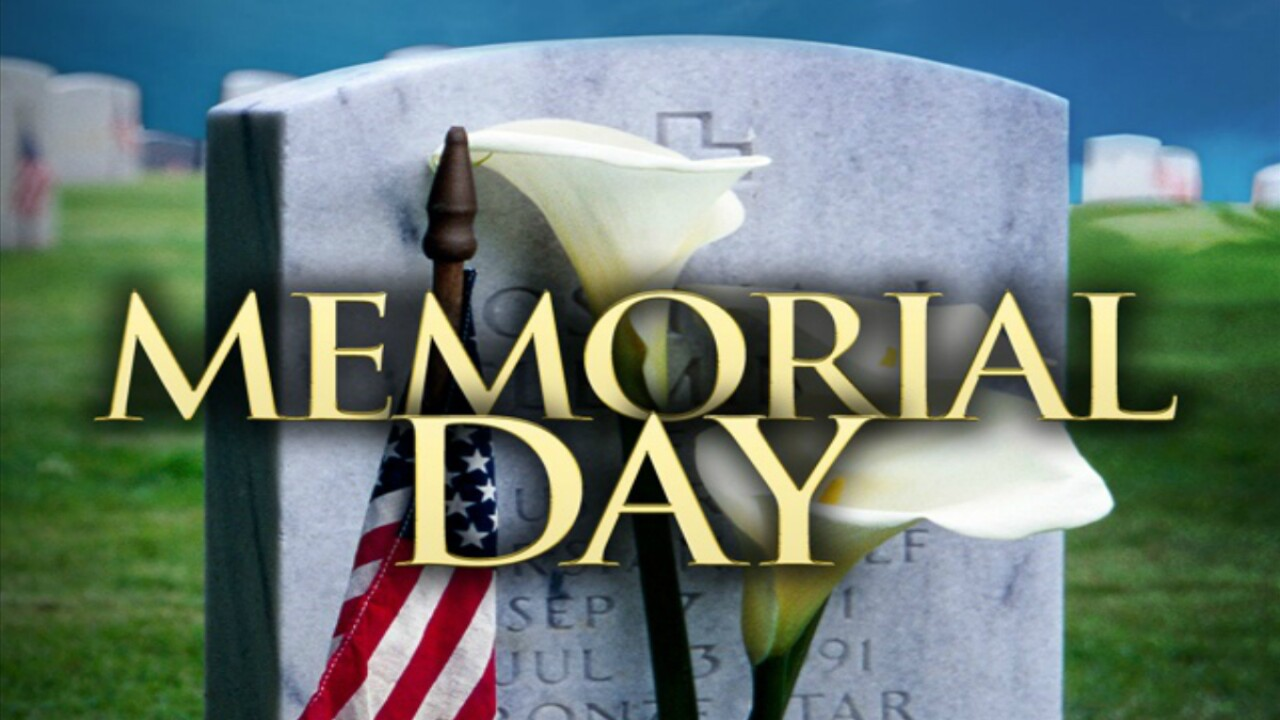 Memorial Day events across Central Virginia honor fallen heroes