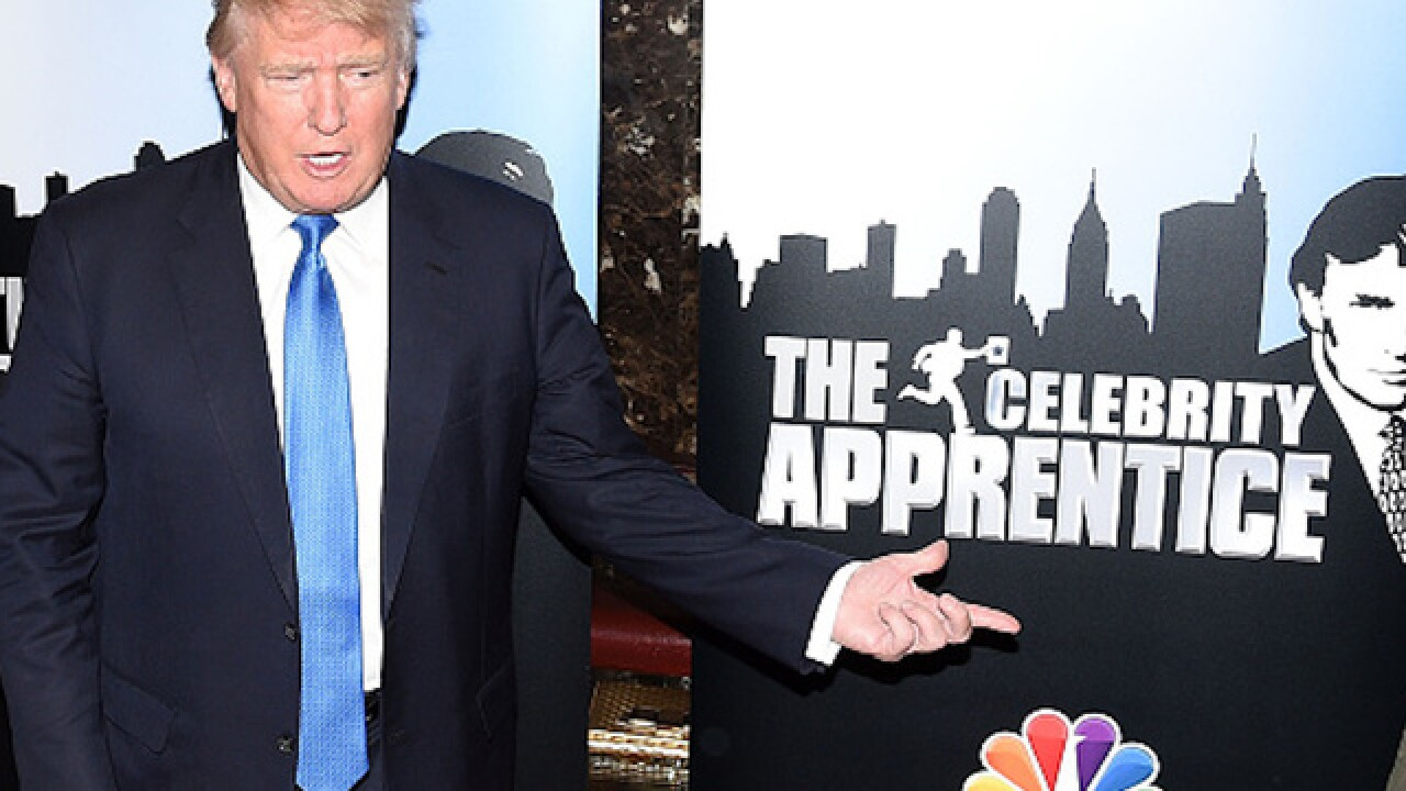Trump to continue producing 'Celebrity Apprentice'