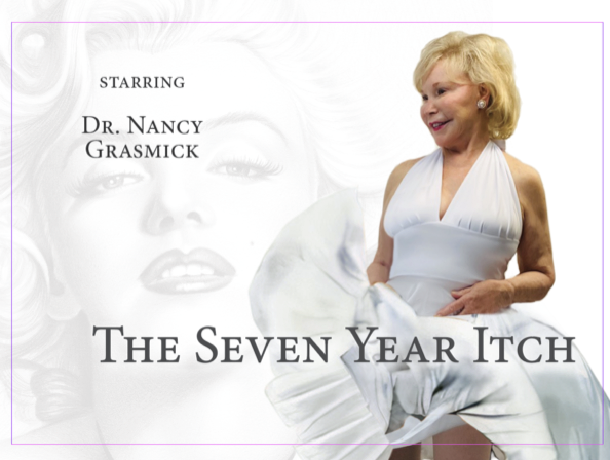 Dr. Nancy Grasmick as Marilyn Monroe in The Seven Year Itch