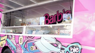 Barbie Pop Up Truck