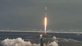 SpaceX launched their Falcon 9 rocket Saturday at 9 a.m. from Launch Complex 39A at Cape Canaveral.