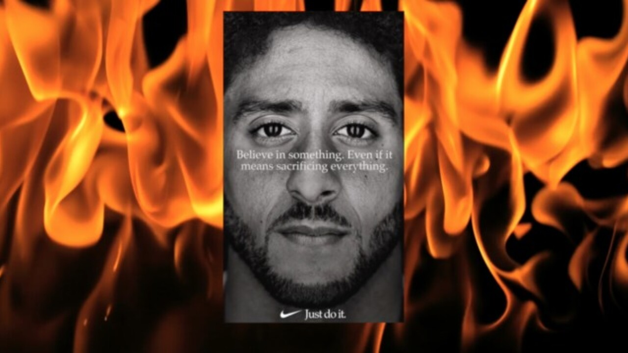 Nike's new ad has the hashtag #BurnNike trending on social media