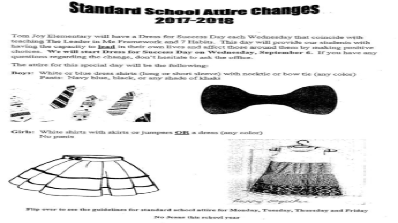 School Dress Policy Stirs Controversy