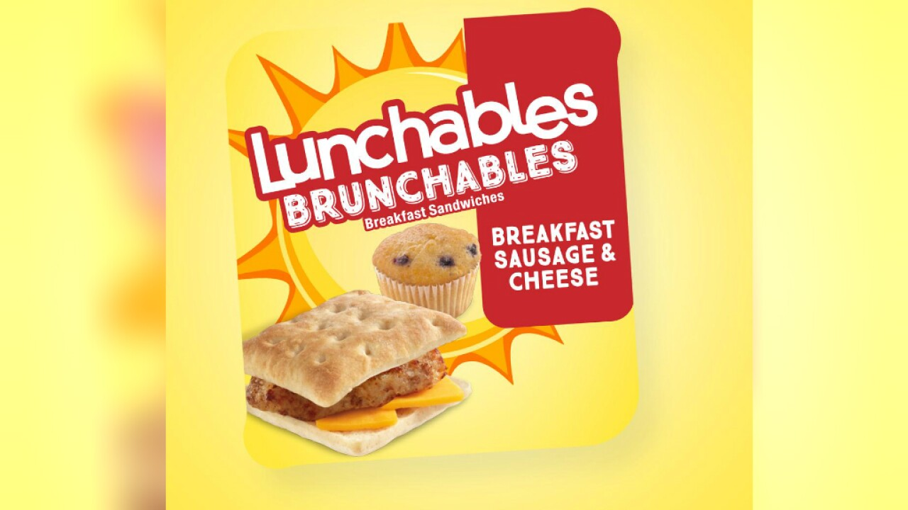 Brunchables: Lunchables gets a breakfast makeover