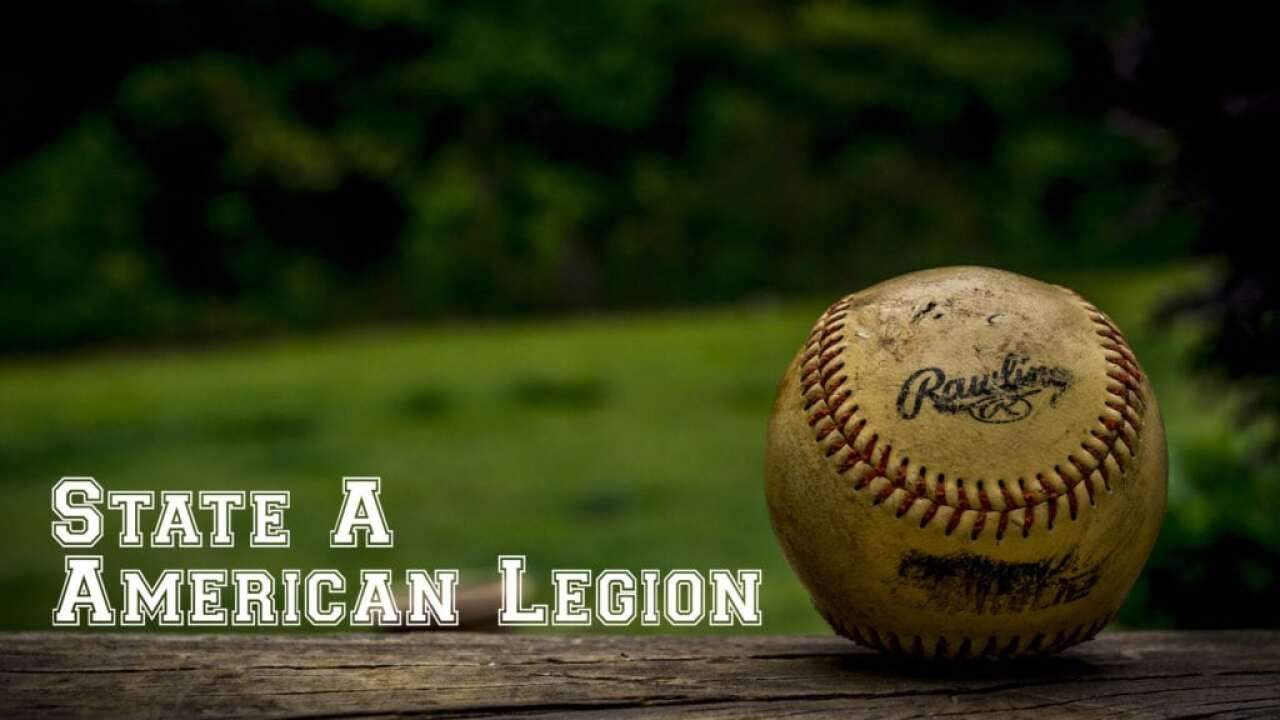 Scores and pairings: State A American Legion Baseball tournament
