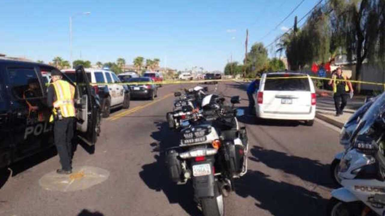 PD: Child hit, killed by car in Peoria