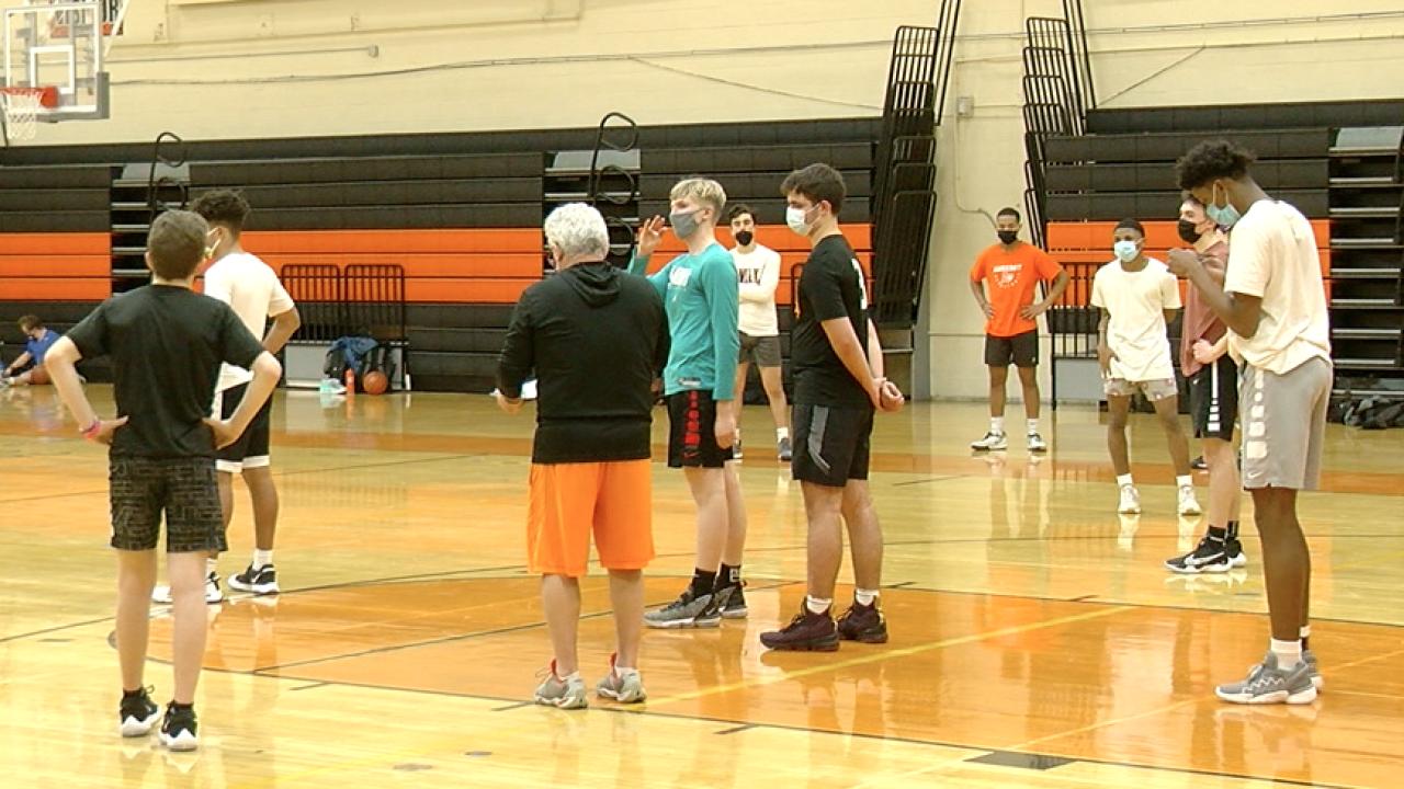 Amherst Boys' Basketball 2021