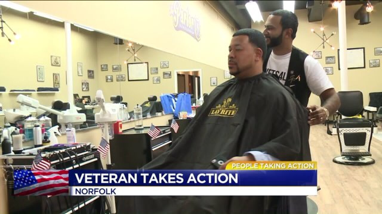 Local Veteran helping other Veterans struggling withPTSD