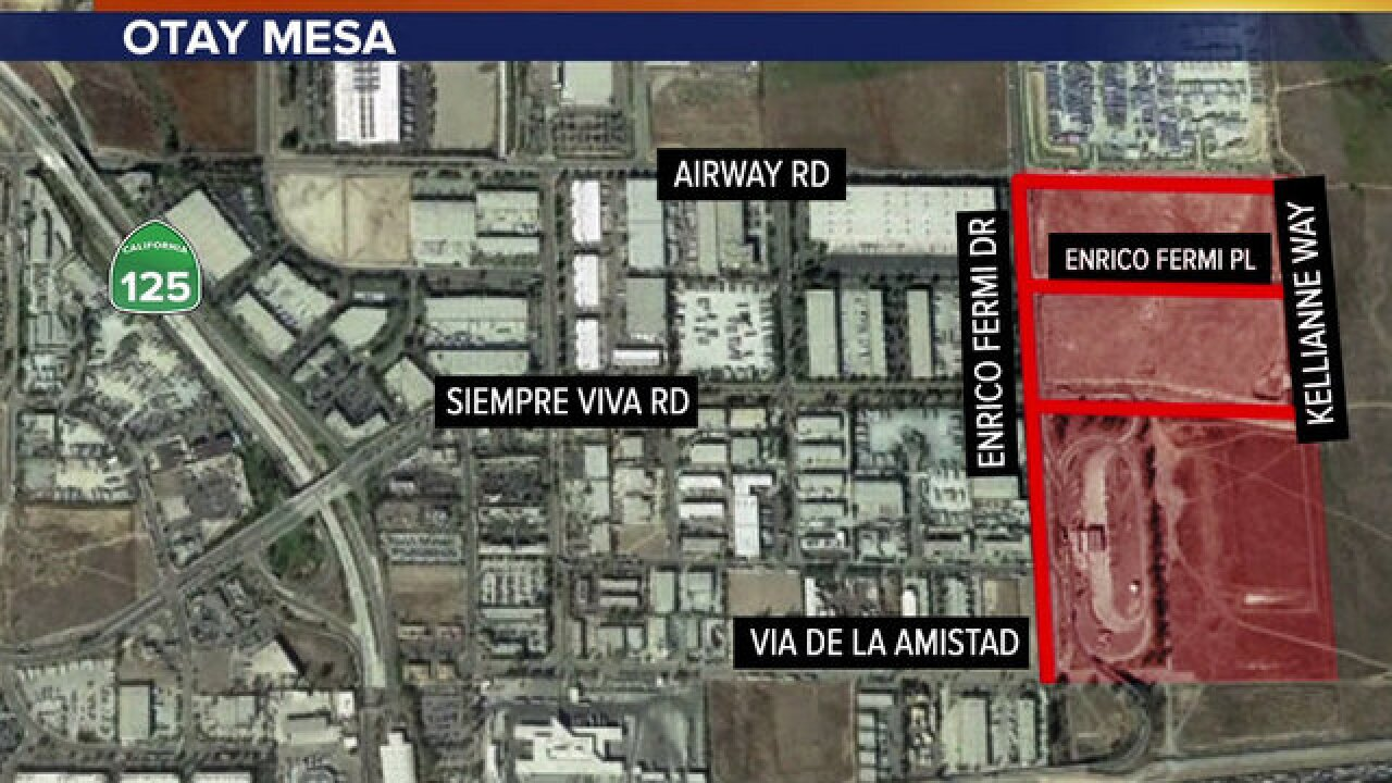 Trump SD visit: Restricted areas in Otay Mesa