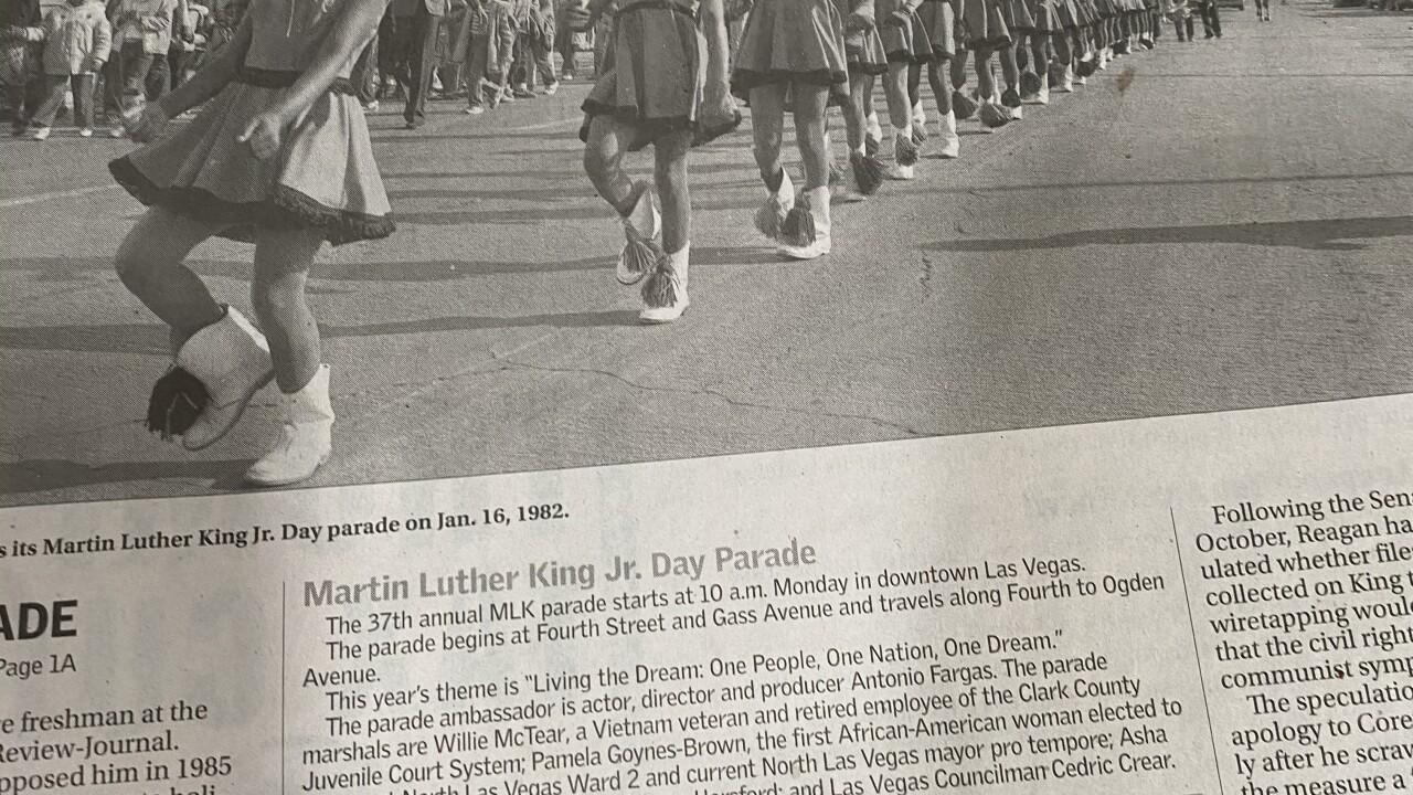 MLK Parade 1982