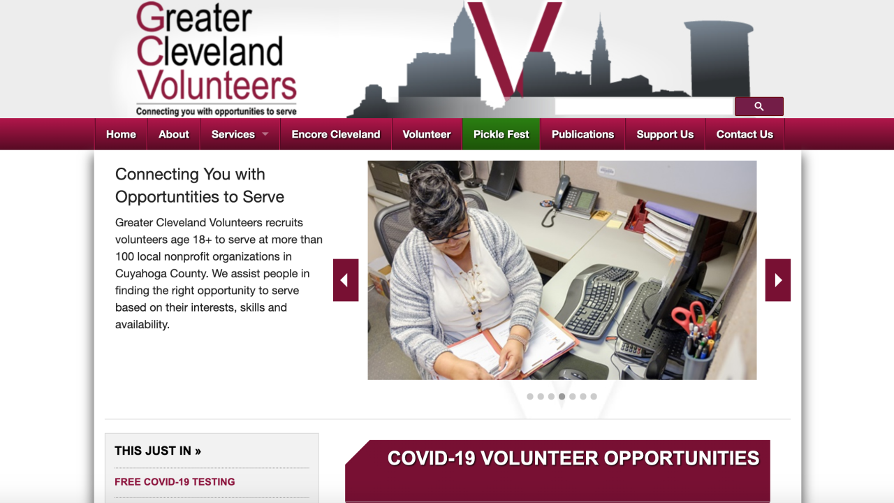 Cleveland nonprofit looking for hundreds of volunteers after numbers dwindle during COVID-19 pandemic