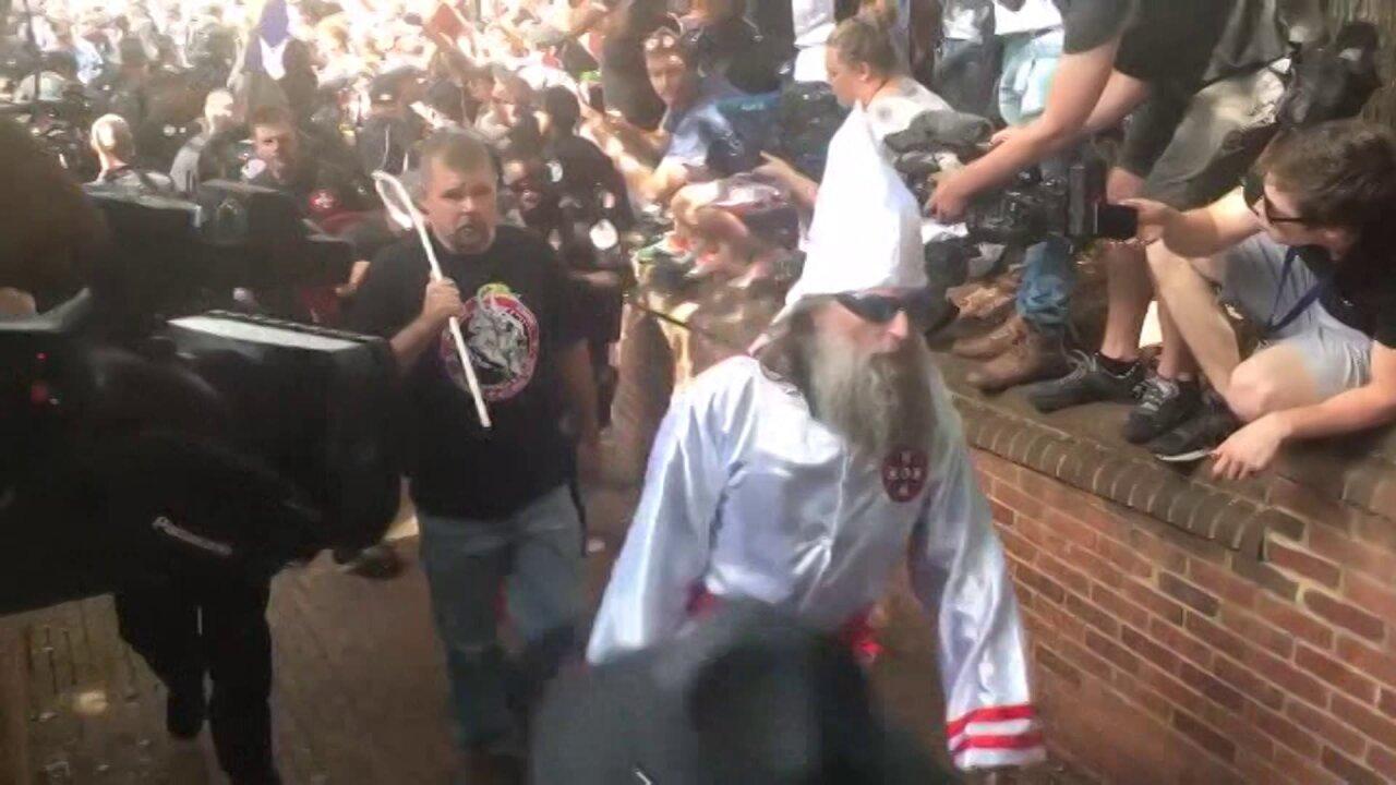 23 people arrested at KKK rally inCharlottesville