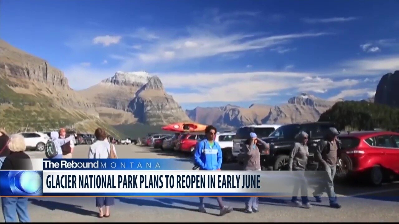 Glacier National Park releases details plans to reopen