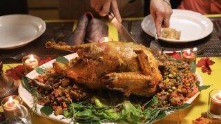Local business hosting Thanksgiving dinner
