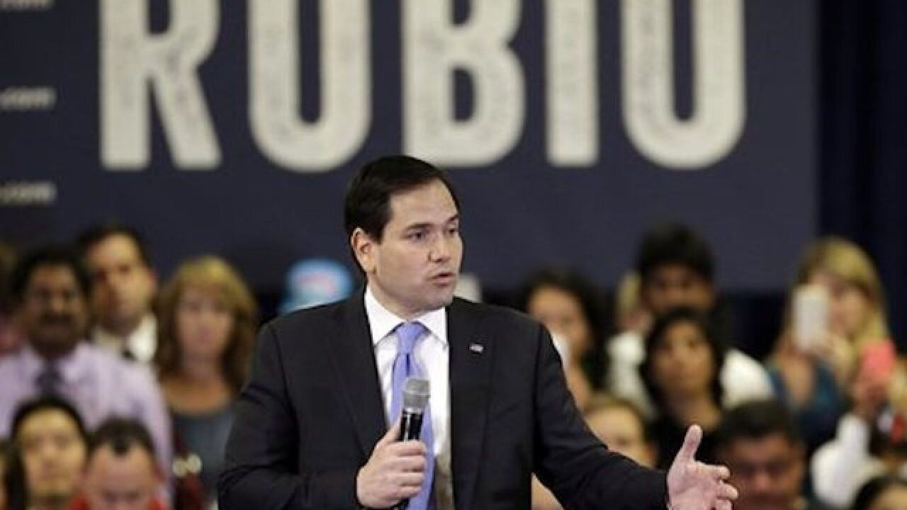 Rubio takes the offensive against Trump