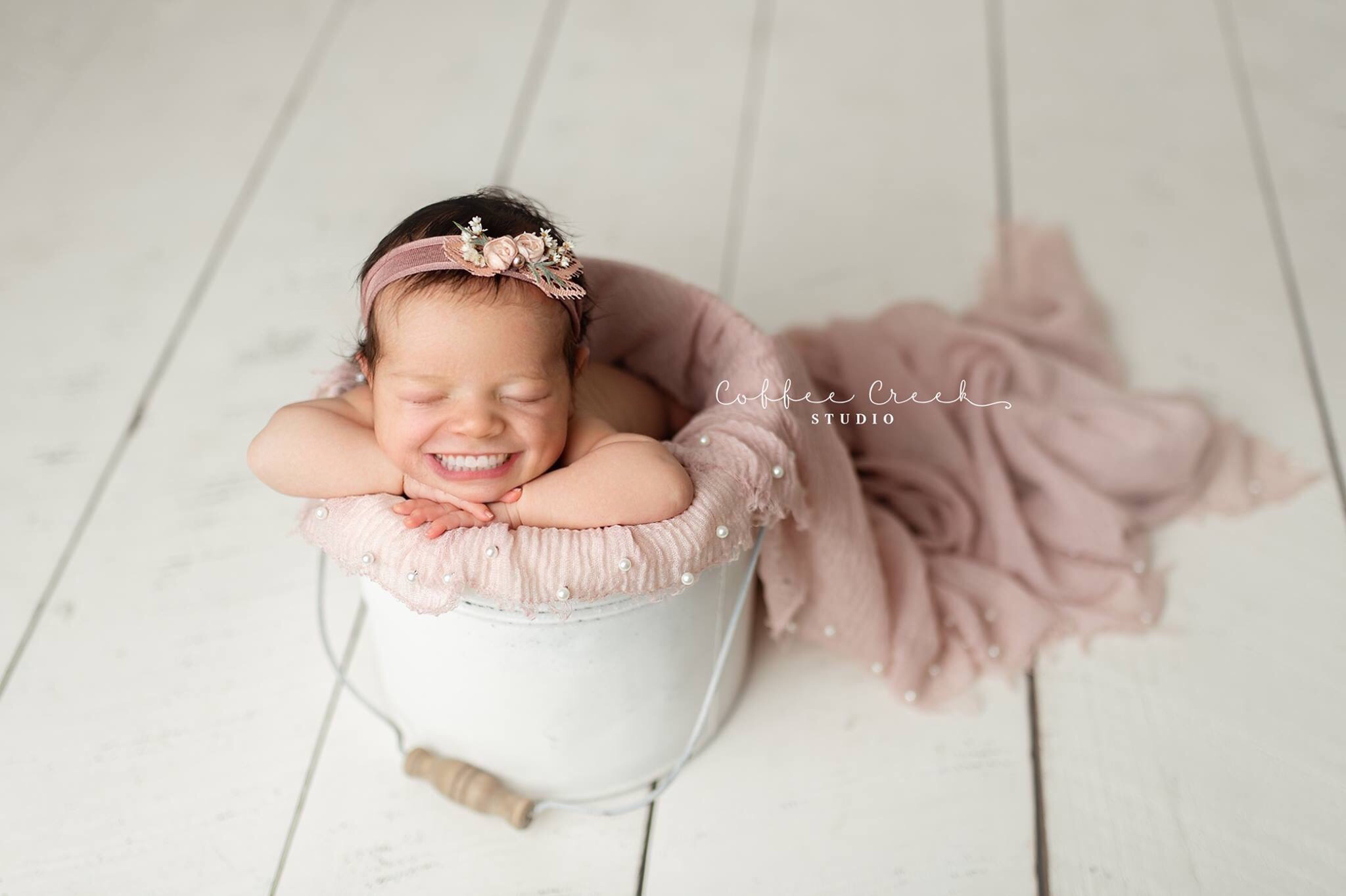 Photos: 'Can't. Stop. Laughing.' Photography studio imagines babies with adult smiles