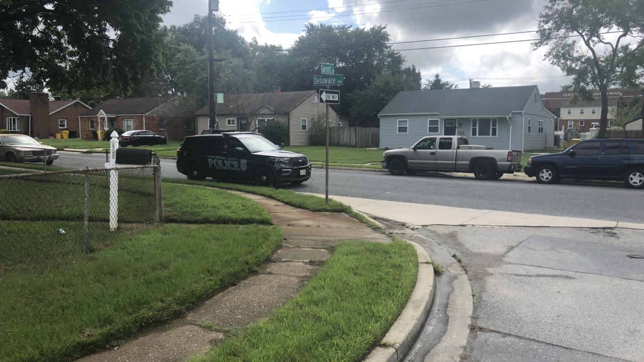 Delaware Ave murder Glen Burnie