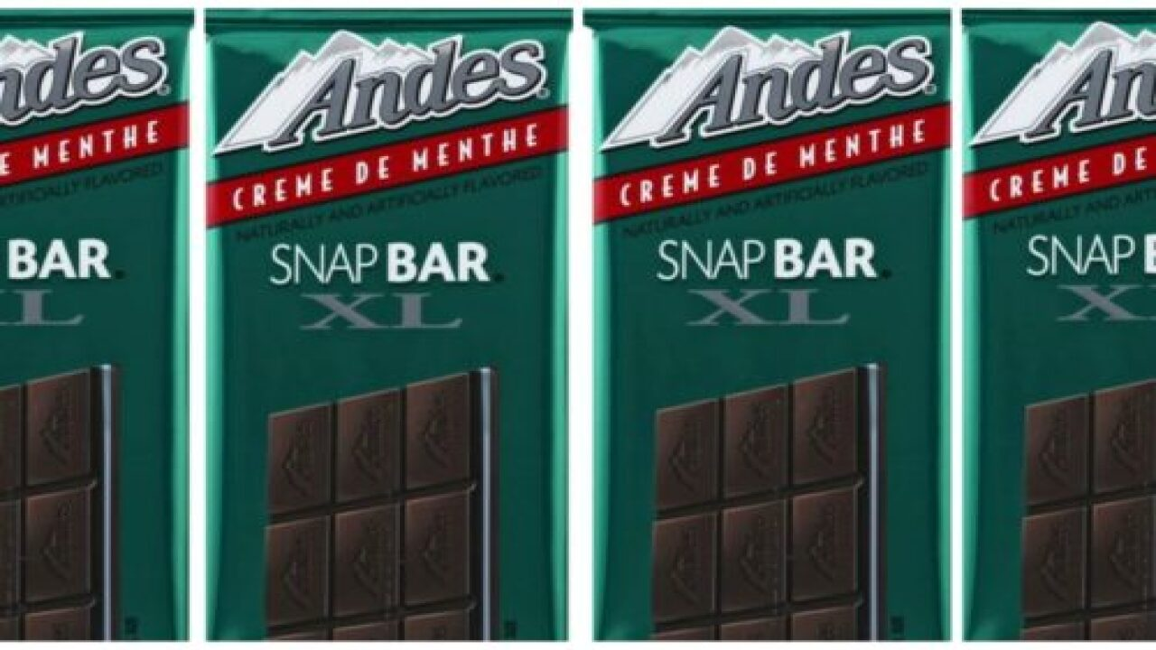 You Can Now Buy Giant Andes Mint Candy Bars