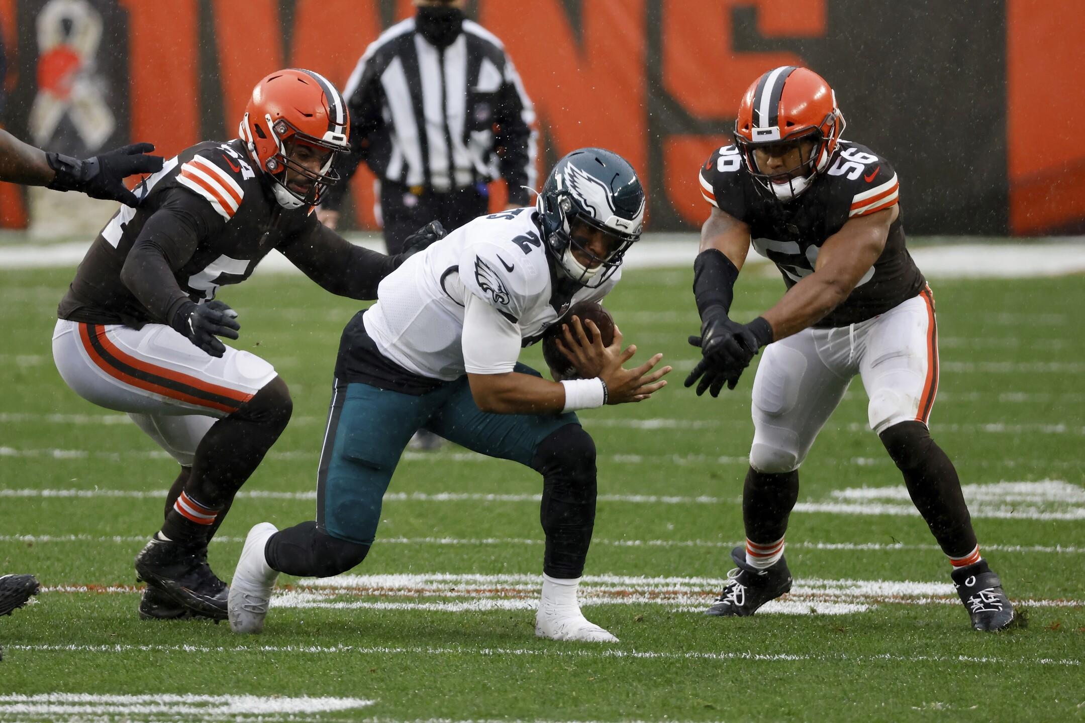 Eagles Browns Football