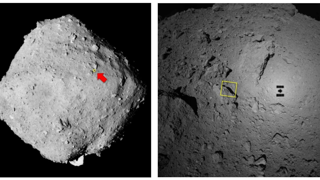 Japanese space probe fires 'bullet' into asteroid