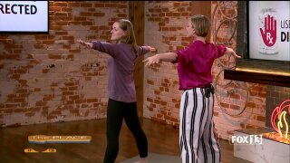 Three yoga poses for painrelief