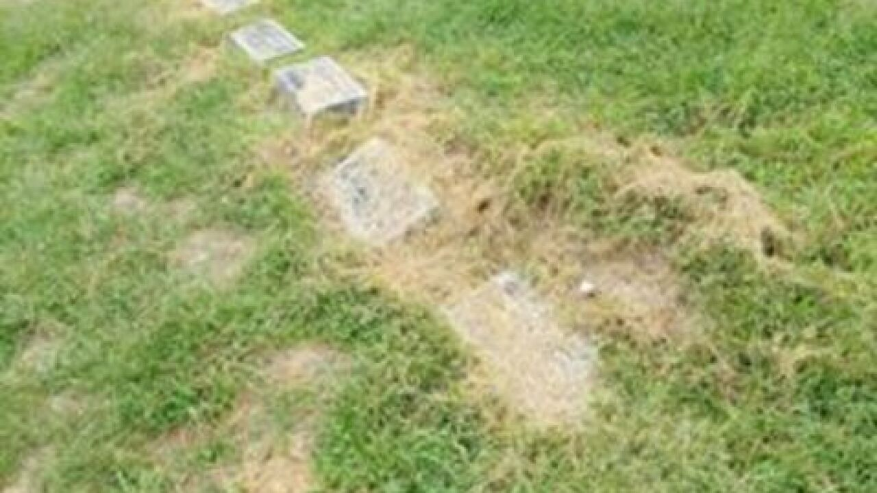 Some upset over upkeep of Independence cemetery