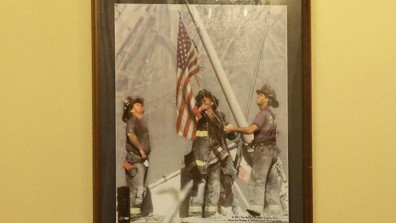 9/11 flag raised by firefighters at Ground Zero found in Washington