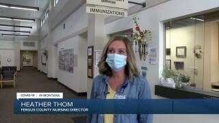 Heath Thom, the Fergus County Nursing Director